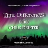 Dirk - Host Mix - Time Differences 291 (3rd December 2017) on TM Radio