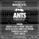 Davide Squillace - Live @ Monumental featuring Ants (Off Week, Barcelona) - 16-JUN-2018