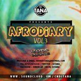 @DJTana_ - #AfroDiaryVol3 Afrobeats CD