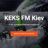1st live broadcast on KEKS FM Kiev ( Van der Jacques  on the air )