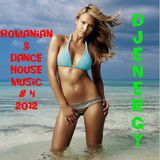Romanian & Dance house music mix 2012 #4 (Djenergy Powermix)