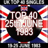 UK TOP 40: 19-25 JUNE 1983