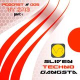 Sliven Techno Gangsta™ ~ Podcast # 005 (01 January 2013) (Live New Year 2013 Part 1)