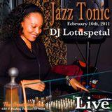DJ lotuspetal Live at Jazz Tonic on 2.16.11