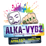 ALKA-VYBZ OFFICIAL MIXTAPE2017....PARTY APRIL 15 2017 @ SABINA PARK....BE THERE !