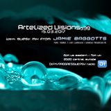 Artelized Visions 039 (March 2017) with guest Jamie Baggotts on DI FM