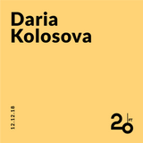 Daria Kolosova @ 20ft Radio - 12/12/2018
