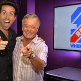 TONY BLACKBURN AND NICK GRIMSHAW  BBC RADIO 1 50th birthday  30th september 2017