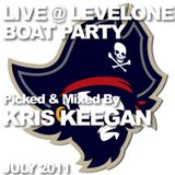 Live @ Levelone Boat Party - July 2011