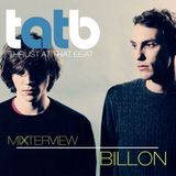 Billon Exclusive Mixterview for Thrust At That Beat