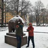 sam i am in Finland, Friday October 26, 2018