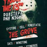 Winstone b2b Dati (Friday the 13th /Dubstep & Dnb Night Dunaszerdahely 2017.01.14)