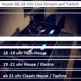 Klotzen statt Kleckern - Twitch Live Stream Set (25.03.2018)