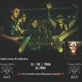Programa Cangaço Rádio Rock - Entrevista -  Arandu Arakuaa (11.01.2016)