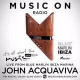 John Acquaviva - Live @ Blue Marlin Ibiza Marina (Ibiza, ES) - 18.08.2017