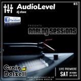 Analog Sessions 03   Craig Dalzell Live On Vinyl @ AudioLevel (05/10/2019)