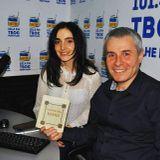"""Костянтин Грубич — автор і ведучий програми «Смачна країна» в гостях на """"Твоєму"""" з Євою Райською"""
