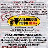 # 149 Arariboia Rock News - 23.08.2017 – Overdose de Bandas e Pai de Herói no ARNews