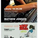 Mathew Jonson - The flame recordings Live @ Zenzero (Bari, Italy) 19.04.2008 Part1.mp3