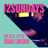 Shane Linehan - Live at 12Sundays, 17th February 2013