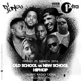 DJ Jonezy  BBC Radio 1Xtra - Old School Vs New School Hip Hop Mix ClubSoth April 2016
