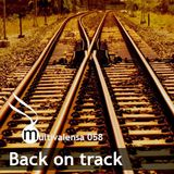 Back on track [Multivalensa 058]