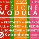 CAMPO ELÉCTRICO/ AKM+PROTOTIPO+HUMANOIDES+NULL+CO-DEC+EL ULTIMO+AUTOMATIQUE+OPOSITOR