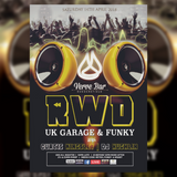 RWD // UK GARAGE // CURTIS KINGSLEY {VERVE BAR PROMO} {14TH APRIL 2018}