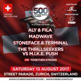 Aly & Fila - Live @ FSOE 500 (Street Parade, Zurich, Switzerland) - 12.08.2017