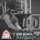 John Wander - Live at UR ART Festival - Sunday July 20 2014
