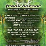 Freak Bazaar @ Volks - BASSment Room hosted by Wobbly Records. 10.04.2015