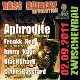 Aphrodite @ Bass Raiderz Revolution 02.09.11 Zwischenbau HRO Pt. 1