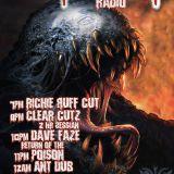 Frightnight Radio - Dark DnB Rollers 28.9.18 - Dave Faze (with DL)