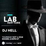 Dj Hell - Live @ Mixmag in The Lab NYC (New York, USA) - 04.10.2018