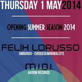 M.I.D.I. live @Sunshine Music Fest W/ Felix Lorusso