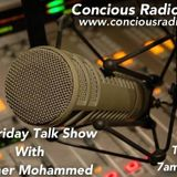 BROTHER MOHAMMED @ CONCIOUS RADIO 09.05.2014