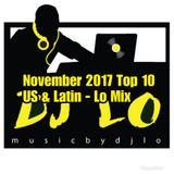 Top Hits - U.S. & Latin - Nov 2017 - Lo Mix