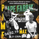 Zungenakrobaten Episode 135 - Tapefabrik Spezial mit Max & Pimf vom 04.02.2019