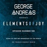 George Andreas - Elements of Joy 108