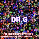 Dr.G - Recorded at Tribe of Frog September 2016