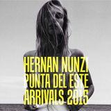 HERNAN NUNZI PUNTA DEL ESTE ARRIVALS 2015