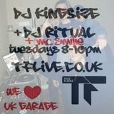 @DJ_KingSize / DJ Ritual / MC Smilie / DJ Pablo Gomez - TFLIVE 8-3-16 #UKG
