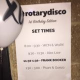 Live at Rotary Disco, Sydney (15 July, 2016)