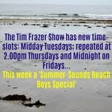 Tim Frazer 'Summer Sounds: Beach Boys Special' on Swinging Radio England 18th July'17