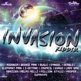 Invasion Riddim Mix Promo (Cashflow Rec.-Jan.2013) - Selecta Fazah K.