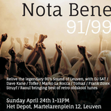Nota Bene Reunion 24-04-16 (ENTIRE MIX OF THE PARTY)