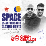 CHUS+CEBALLOS at Space Ibiza - Closing Fiesta 2014