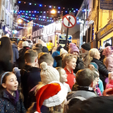 The World in View at the Turning on of Tramore Christmas Lights 2017