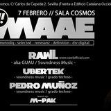 Ubertek@3º Soundness Showcase.Sala Cosmos (7-FEB-2014)