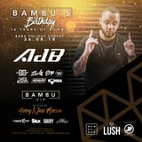 @AdBdeejay - 16 YEARS OF BAMBU BANK HOLIDAY MINI MIX